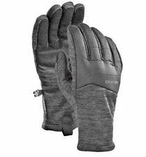 Head Mens Grey Hybrid Warm Running Touchscreen Gloves Good Grip & Easy On / Off