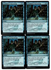 MRM ENGLISH FOIL 4x Accumulated Knowledge - Connaissance accumulée NM MTG M25