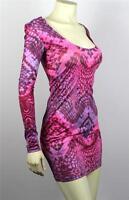 Armani Exchange A|X Women's Snake Print Bodycon Dress - A5R047XS Size XS