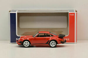 Porsche 911 Turbo diecast 1:43 Norev red color with very accurate details
