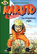 Livre naruto la cinquième règle Masashi Kishimoto book