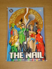 JUSTICE LEAGUE OF AMERICA NAIL BOOK 1 DC COMICS GRAPHIC NOVEL