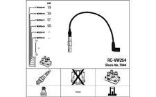 NGK Juego de cables encendido SEAT IBIZA ALTEA CORDOBA VOLKSWAGEN GOLF AUDI 7044
