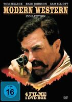 Modern Western Collection (4 Filme-Uncut-Edition)  Tom Selleck uva,  DVD NEU