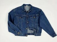 Chiori jeans jacket uomo usato M giacca giubbotto denim blu bomber vintage T6267