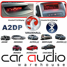 Vauxhall Zafira Tourer CDC400 teléfono manos libres Bluetooth y streaming de A2DP Kit de coche