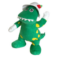 WIGGLES DOROTHY DINOSAUR SOFT PLUSH ANIMAL TOY 25cm - Official Licensed **NEW**