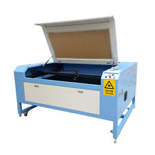 80W CO2  Laser Cutter Laser Engraving Machine Water Chiller 1300x 900mm With CE
