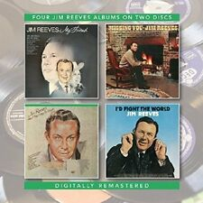 JIM REEVES - MY FRIEND/MISSING YOU/AM I THAT EASY TO FORGET  2 CD NEU