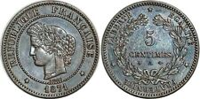 5 CENTIMES CERES 1871 GRAND A  F.118 SUP!!!