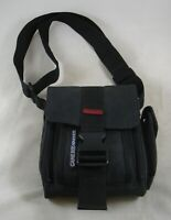 Nintendo GameBoy Advanced Black & Red Padded Carry Bag Organizer Shoulder Strap