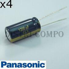 Condensateur 1200µF 10V 20x10mm RM5 105° Low ESR Panasonic (lot de 4)