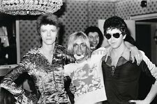 "David Bowie Lou Reed Iggy Pop Photo Poster Canvas Print : 36""x24""  #540601"