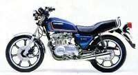 KAWASAKI Z440 LTD KZ440A 1980- FRONT STAINLESS BRAIDED BRAKE KIT ZX GPZ KZ