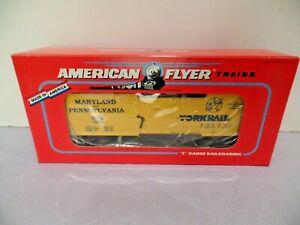 American Flyer 6-48487 1994 Yorkrail TCA Convention Boxcar, E+/LN in OB