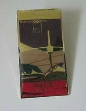 Coca-Cola 1990s Olympic Games Munich Enamel Pin Badge VGC