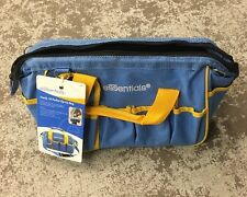 Essentials Handy 18 Pocket Sip-Up Bag Blue And Yellow