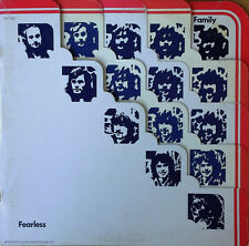 FAMILY - FEARLESS - UNITED ARTISTS - 1971 LP - DIE-CUT COVER - CHAPMAN-WHITNEY