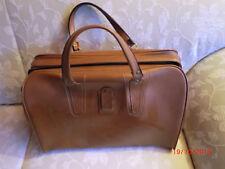 Reisetasche hellbraun mit Reißverschluß