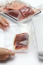 Bolsas de vacío gofradas para envasadora doméstica.(Pack de 100 uds.) 15X40cm