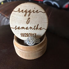 Wedding Ring Box, Ring Bearer Box, Ring Box, wedding ring , Rustic Ring Box