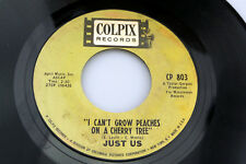Just Us: I Can't Grow Peaches on a Cherry Tree / I Can Save You  [VG+ Copy]