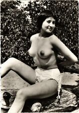 CPA femme. NUDE RISQUE real photo (500182)