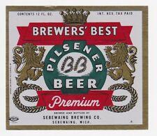 Brewers' Best IRTP Beer Label