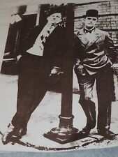 """Large Laurel and Hardy B & W Poster Print 11"""" x 14"""""""