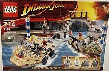 Lego Indiana Jones Last Crusade Venice Canal Chase (7197)
