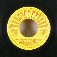 """Jerry Lee Lewis One Minute Past Eternity / Frankie & Johnny 7"""" 45 Sun VG+"""