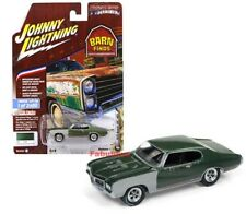JOHNNY LIGHTNING JLCP7083 1970 BUICK GS 455 1/64 DIECAST SHERWOOD GREEN POLY