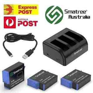 GoPro HERO9 8 7 6 5 4 3 Battery Charger Dual/Triple Smatree Hero Black Kit Set