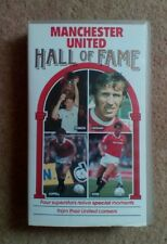 Manchester United Man Utd Hall Of Fame Football VHS Video