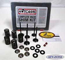 KibbleWhite Valves with Spring Kit and Seals, Shim Kit WR YZ 250F 01-13