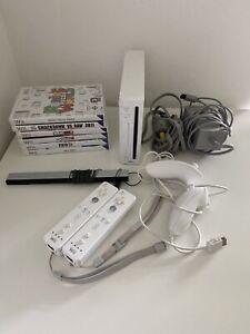 Nintendo Wii mit Controler und 6 Spielen