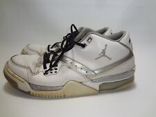 773cfdedb3d Nike Air Jordan Flight 23 White Metallic Silver 317820-100 SIZE US 11.5 2014