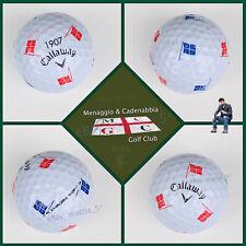 (1) Callaway Chrome Soft TRUVIS Golf Ball (1907) Menaggio & Cadenabbia GC  ITALY