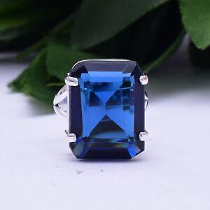 Handsome Tanzanite Gemstone 925 Sterling Silver Handmade Ring All Size