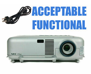 NEC VT660 Tri-LCD Projector - Acceptable Functional w/Power Cable