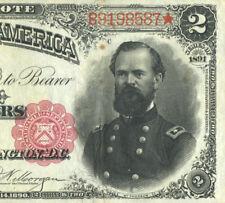 Fr. 357 $2 1891 Treasury Note ( General McPherson )