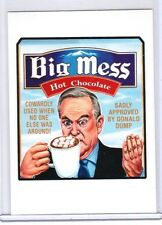 "2017 WACKY PACKAGES/GPK ""BIG MESS HOT CHOCOLATE"" NETWORK SPEWS #38 STICKER CARD"