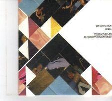 (DW376) What is Love, Azitiz - 4 track sampler - 2011 DJ CD