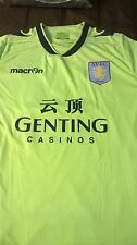 Aston Villa  official match Jersey #18 worn by players