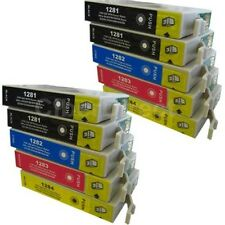 10 ciberdirect T1281 T1282 T1283 T1284 cartouches d'encre pour adapter les imprimantes epson