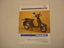 advertising Pubblicità 1990 PEUGEOT SX 50