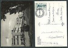 1954 ITALIA FDC ELICOTTERO - FIERA DI MILANO