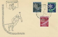 Poland FDC Wintersports (Mi. 956-58) #1