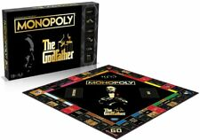 THE GODFATHER COLLECTOR'S EDITION MONOPOLY BRAND NEW 6 X METAL TOKENS HASBRO