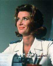 Lois Maxwell - Miss Moneypenny - James Bond - Signed Autograph REPRINT